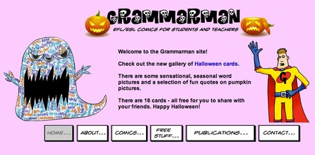 Grammarman Comic for ESL/EFL | Ignite Reading & Writing | Scoop.it
