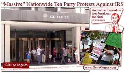 """Have """"Scandals"""" Sparked A New Tea Party Revival? 