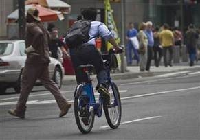No helmets required for bike share in busy NYC - Today.com (blog) | Melbourne Cycling | Scoop.it