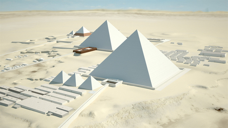 Piramides de Giza en 3D | Educacion, ecologia y TIC | Scoop.it
