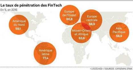 Les FinTech portées par les marchés émergents   Digital & Fin Tech   Scoop.it