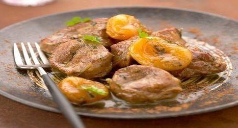 Recette : Epaule d'agneau IGP du Limousin aux abricots façon tajine - Essyndic.com | Cuisine, Recettes et art culinaire | Scoop.it