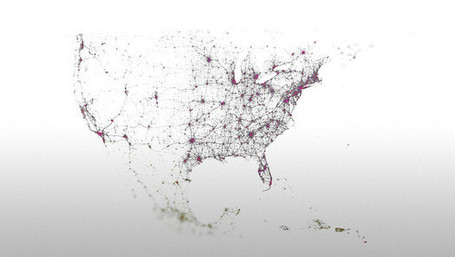 These Amazing Twitter Metadata Visualizations Will Blow Your Mind - Fast Company | Community Managers Unite | Scoop.it