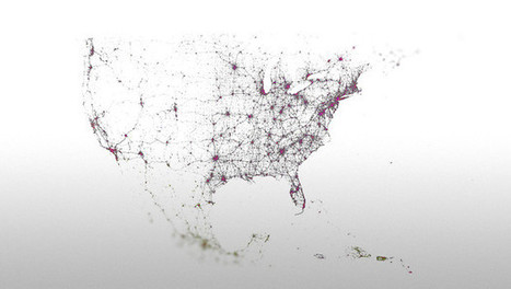 These Amazing Twitter Metadata Visualizations Will Blow Your Mind | Psychology and Social Networking | Scoop.it