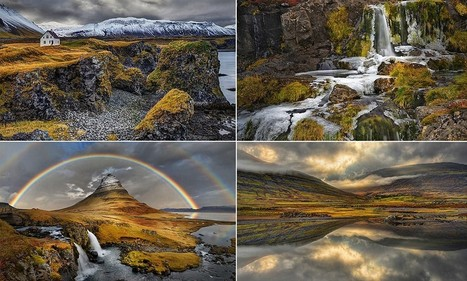 Breathtaking photos of Iceland reveal landscapes that inspired Hollywood - Daily Mail | Inspirational Photography to DHP | Scoop.it