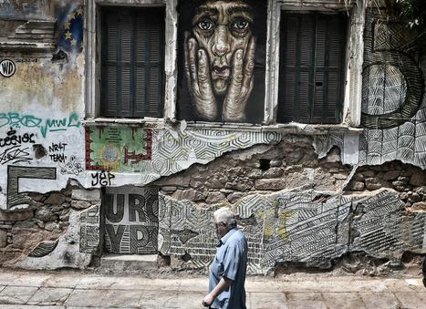 Greek Crisis Street Art | World of Street & Outdoor Arts | Scoop.it