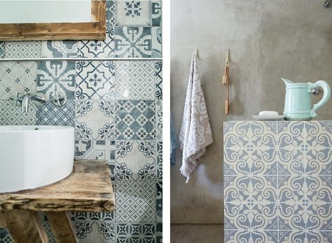 La salle de bain : petits détails et inspiration déco | Astuces pratiques Déco | Scoop.it