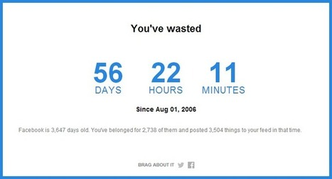 Find out how much time you've spent/wasted on Facebook in the last ten years - Metro | Sizzlin' News | Scoop.it