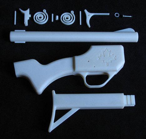 Le premier fusil imprimé en 3D | Actu High Tech | Scoop.it