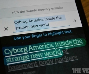 Updated Google Translate for Android reads text from photos, adds dialect ... - The Verge | Chilean Spanish | Scoop.it