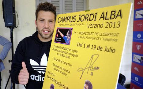 Jordi Alba presenta el campus de futbol que farà a L'Hospitalet al mes de juliol   Deportes   Scoop.it