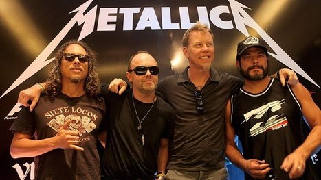 Hear Metallica's Epic Tribute to Ronnie James Dio - LIVE 105 | On the Records (Musically Speaking) | Scoop.it