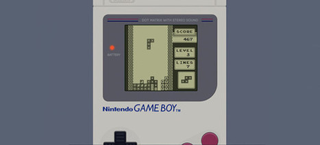 Celebrate Game Boy's 25th anniversary with a Tetris birthday card | Technoculture | Scoop.it