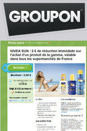 HighCo propose des coupons de réduction NIVEA SUN et JOKER sur Groupon | Couponing, M-Couponing, E-Couponing, M-Wallet & Co. | Scoop.it