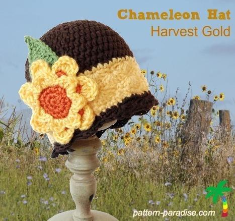 FREE Crochet Pattern - Harvest Gold - Pattern Paradise | FREE Crochet Patterns | Scoop.it