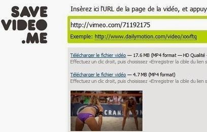 SaveDeo - Récupérer des vidéos Youtube, Facebook, Vimeo, Vine sans logiciel | Au fil du Web | Scoop.it