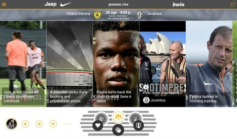 TOK.tv | Introducing Juventus Live 2.0: sport fans best second screen experience | Automatic Content recognition | Scoop.it