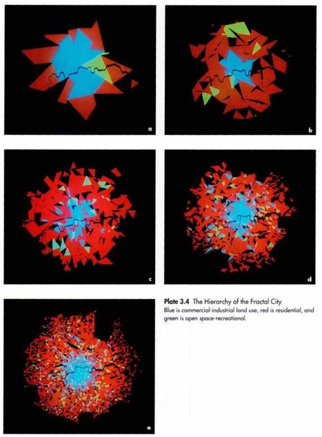 Fractal Cities Low Resolution: A Geometry of Form and Function | Code and Form | Scoop.it