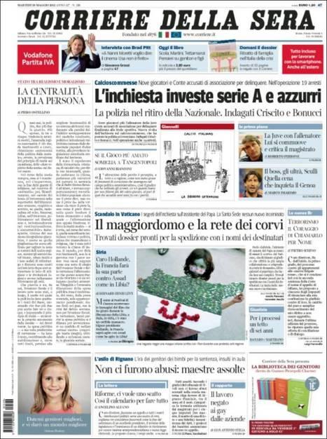 Corriere della Sera * VatiScandal! | Bilingual News for Students | Scoop.it
