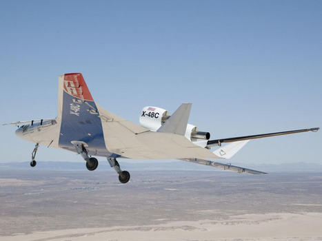 Photos of the Day: Boeing Blended Wing Body Design Completes Tests | Olli's Digest | Scoop.it