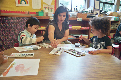 preschool photoshoot: teacher nicole helps | Observation and Assessment in Early Childhood Education | Scoop.it