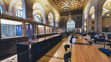 Installez votre bureau dans une banque royale historique | Immobilier | Scoop.it
