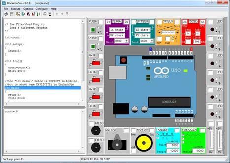 ¿Todavía sin placa?: usa este simulador de Arduino Uno | Maestr@s y redes de aprendizajes | Scoop.it