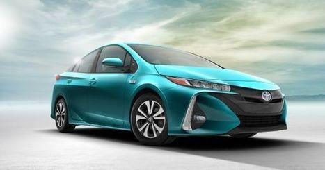 Toyota Just Unveiled the Most Efficient Plug-In Ever, the Prius Prime | MishMash | Scoop.it