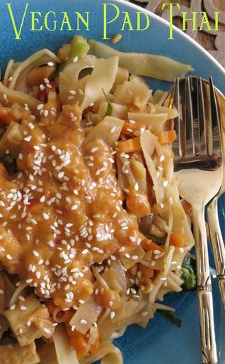 » Meatless Monday with Vegan Pad Thai | Healthy Living | Scoop.it