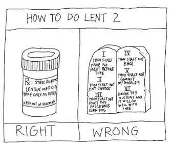 Pithless Thoughts: Orthograph # 143 - How to Do Lent #2 | The Amused Catholic: an Ezine | Scoop.it