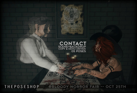 the pose shop @Bloody Horror Fair   亗  Second Life Fashion Addict  亗   Scoop.it
