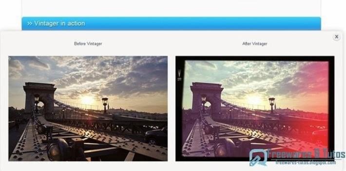 Vintager : un logiciel gratuit pour donner à vos photos un look vintage et rétro | TIC et TICE mais... en français | Scoop.it