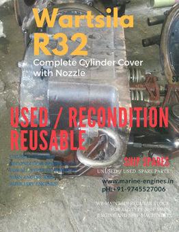 Cylinder Cover | Wartsila R32 | Marine Engines Motors and generators | Scoop.it