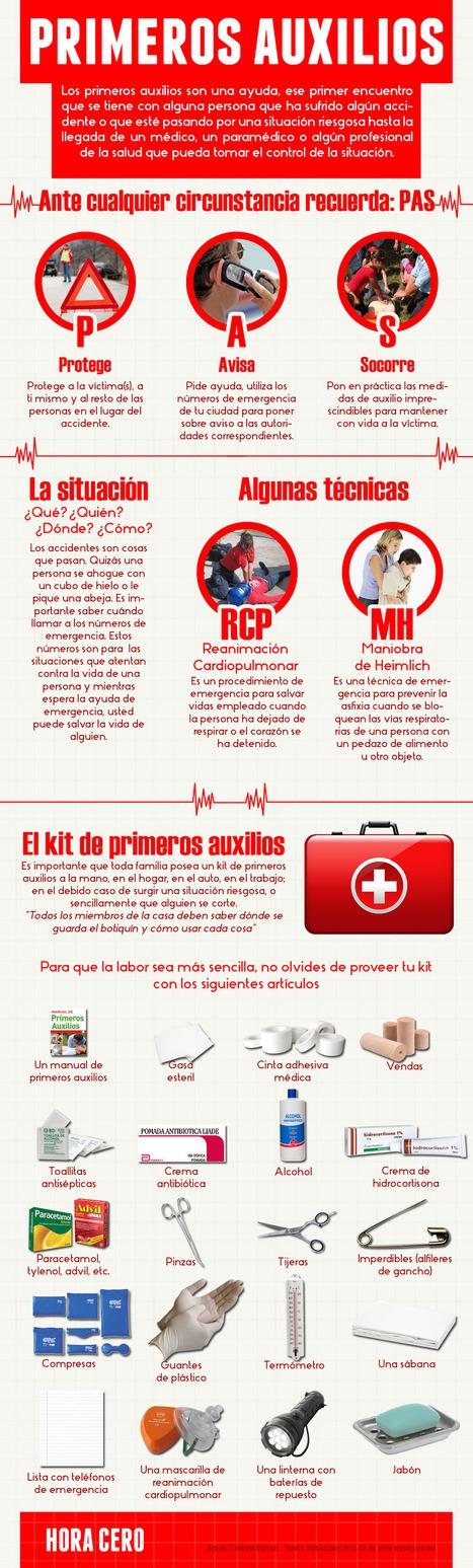 Guías de prevención y primeros auxilios para la escuela | Gabit | Educacion, ecologia y TIC | Scoop.it