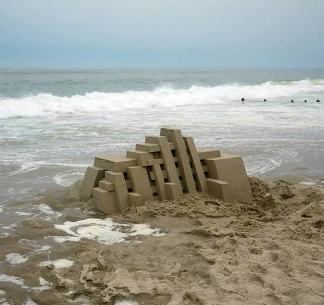 Calvin Seibert: Sand Sculpture | Art Installations, Sculpture, Contemporary Art | Scoop.it