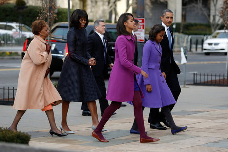 For Obama, an Inauguration With a Bit Less Tension in the Air | people and potins | Scoop.it