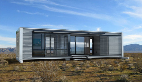 Putting the Fab Back in PreFab: Connect Homes | Apartment Therapy | Container houses | Scoop.it