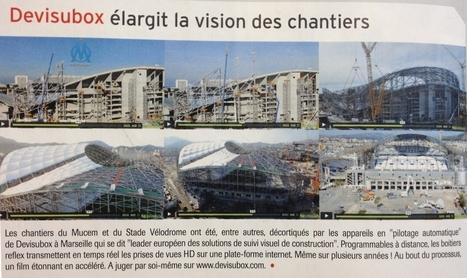 Businews | Un extrait du time lapse de la construction du stade Vélodrome by Devisubox | Camera HD de suivi de chantier - Temps réel et Time lapse | Scoop.it