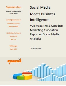 White Paper: Social Media Meets Business Intelligence | SocialIntelligence | Scoop.it