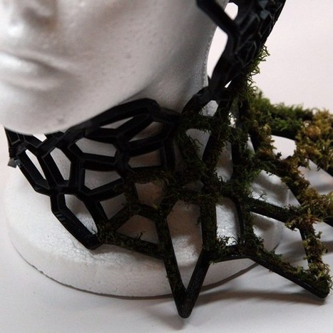 Designer 3D-prints mossy accessories inspired by bug-eating fungus (Wired UK) | 3D Printing Daily News | Scoop.it