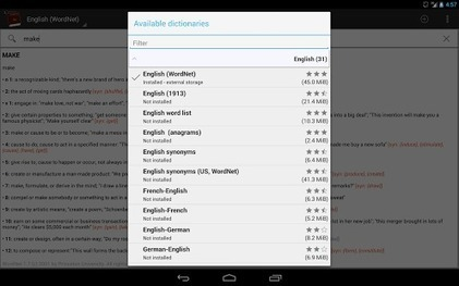 Offline dictionaries – Android Apps on Google Play | Dislessia conoscere e capire | Scoop.it