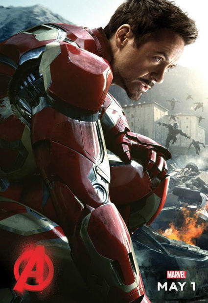 Iron Man gets his first Avengers: Age of Ultron characters Poster | myproffs.co.uk - Entertainment | Scoop.it
