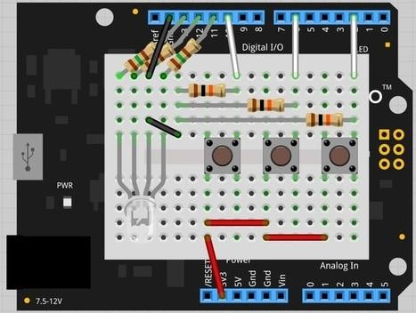 Rock-Paper-Scissors with Netduino and Arduino - CodeProject | Arduino, Netduino, Rasperry Pi! | Scoop.it