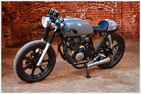 Yamaha XS400 - Volure Cycles | ClassyEdgyWildWheels: bikes, motorbikes & automobiles | Scoop.it