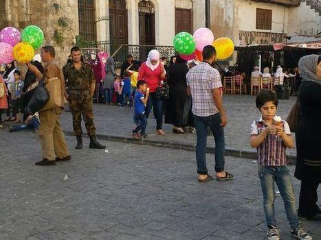 Yle Syyriassa: Damaskoksen lasten ilmapalloleikit   Syyria   Scoop.it