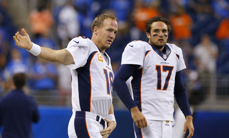 Peyton Manning or Brock Osweiler? It's not up for debate yet. | NFL Football and Fandomonium | Scoop.it