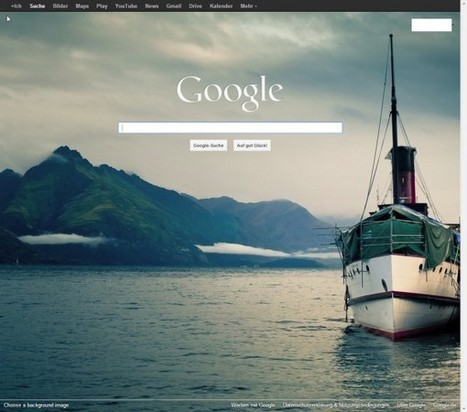 Get your Google homepage background image back - Ghacks Technology News | DISCOVERING SOCIAL MEDIA | Scoop.it