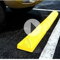 Parking Blocks - Car Stops Curbs Bumpers - Plastic Rubber | Traffic Safety Store | Traffic Cones | Scoop.it