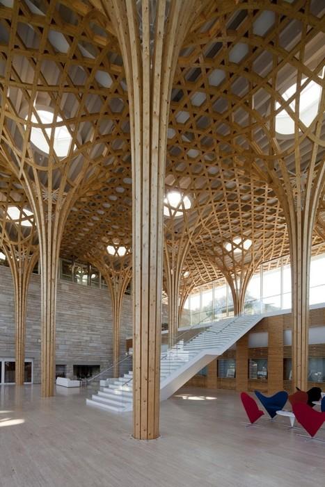 Nine Bridges Country Club | Shigeru Ban Architects | South Korea | Architecture, Design, Art, Technology | Scoop.it