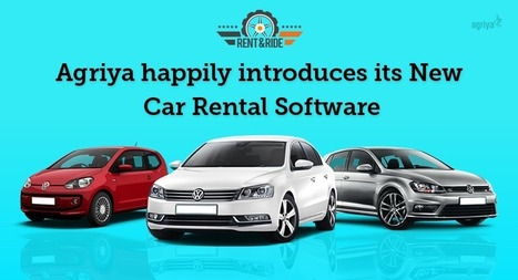 Agriya Happily Introduces its New Car Rental Software – Rent&Ride | Agriya | Scoop.it